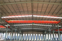 long using large span steel warehouse group houston texas