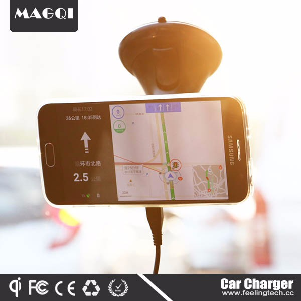 2017 New Innovative Product Phone Holder Magnetic Car Charger