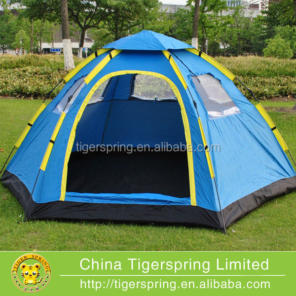 Folding automatic cheap camping family tent