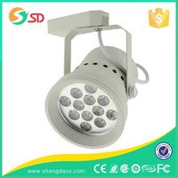 20w-30w barn door dimmable led track light, shop lighting track spotlight
