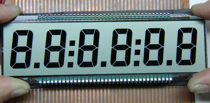 TN digit segment LCD Display