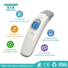 2018 New Portable Baby/Adult Forehead and Ear Dual Mode Infrared Digital Thermometer