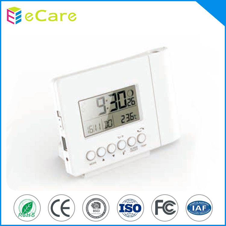 Hot sale newest design desk smart table radio controlled clock for promotion for wall decorations