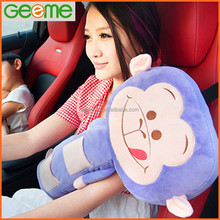 Wholesale Plush Seatbelt Pad Pillow in the Car