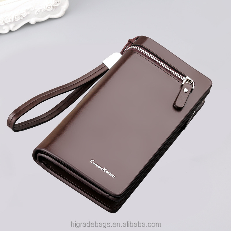 High capacity Curewe Kerien men's pu leather <strong>wallet</strong> wholesale