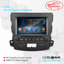 hot sale Android 4.4.4 car radio with sim card for mitsubishi outlander 2007- 2012
