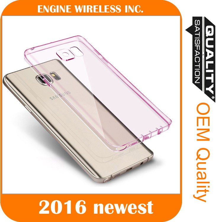 clear case pc tpu transparent bumper back cover for s7 edge case