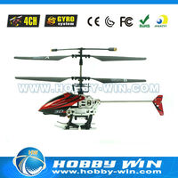 2013 New Mini 4CH RC Helicopter With Gyro & Steering Gear HJ106633 4ch v912 bnf helicopter