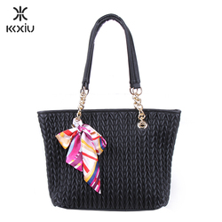 wholesale authentic korean designer leather ladies handbags made in thailand