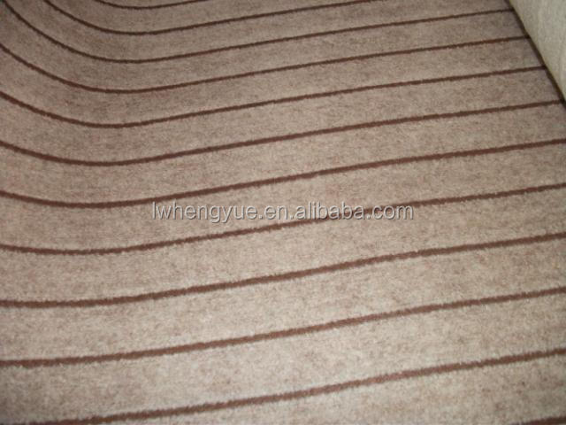Double colors jacquard wall to wall carpet