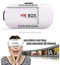 Low price plastic vr 3d headset 3d vr glasses