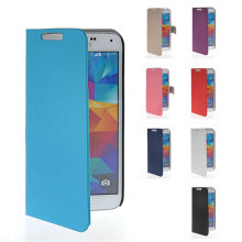 New Beautiful Classic Leather Wallet Back Case Cover For Samsung Galaxy S5 I9600
