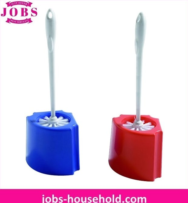 Bowl toilet brush & caddy set