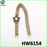 Gold cheap jewelry for decoration for steel toe inserts for shoes