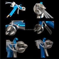 New design with highly efficiency triangle hvlp spray gun No. SG3H for paint tools