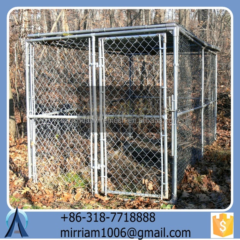 Fabulous hot sale large strong pet house/dog cages/runs/kennels