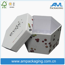 wholesale custom hexagon paper box 12 bottles 8 bottle ampoule box medical outer packaging