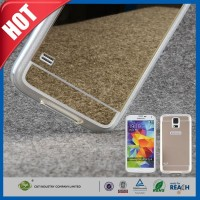 C&T Thin Mirror Transparent TPU Soft Flexible Phone Case for Samsung Galaxy S5