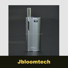 Most popular CBD vape H10 glass cartridge prewarm mod vape meth vaporizer pen with best quality