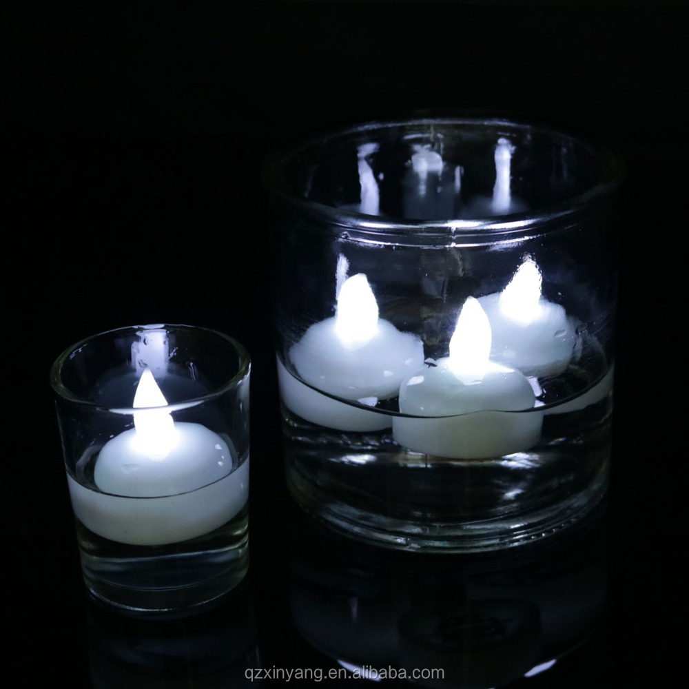 High Quality Led Flameless Tea Lights Floating LED Outdoor Candles
