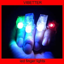 Hot Sale Product PS Material Kids Birthday Party Supplies LED Finger Lights Toy