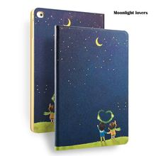 Moon lovers Painting Case for iPad mini, for iPad 8 inch Case with Auto Sleep/Wake, for iPad mini 1 2 3 case