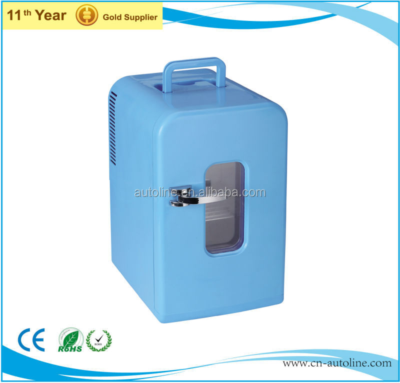 Mini 15L dc 12v battery powered car refrigerator with high quality