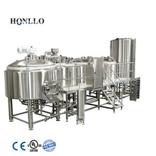 mirror polished 15 bbL brew house of beer fermenting equipment