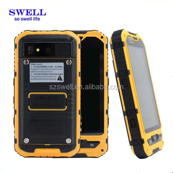 Rugged Mobile with Handheld PDA NFC Reader for retail management A9 broken cell phones dual sim nfc phone