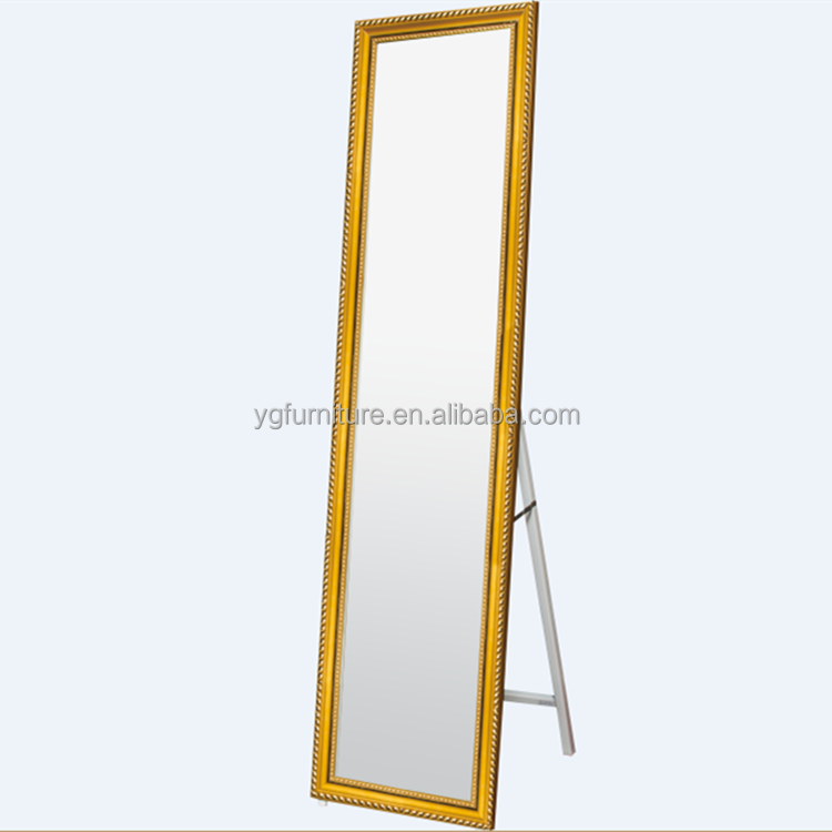 Antuque Gold Wall Mirror China Factory Manufacture Cosmetic Dressing Mirror