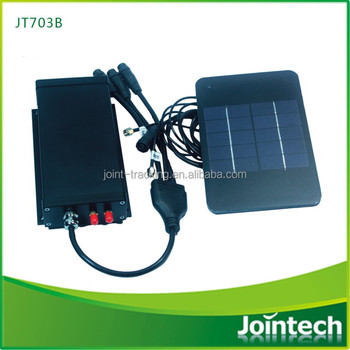 Intelligent GPS Tracking Device JT703B with Big Solar Panel