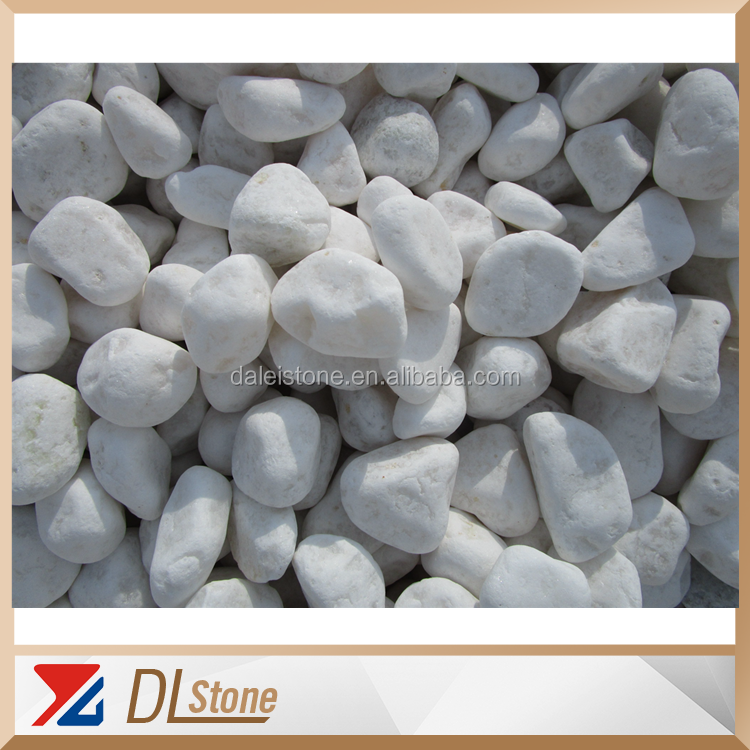 China Snow cleaning white pebbles landscape stone