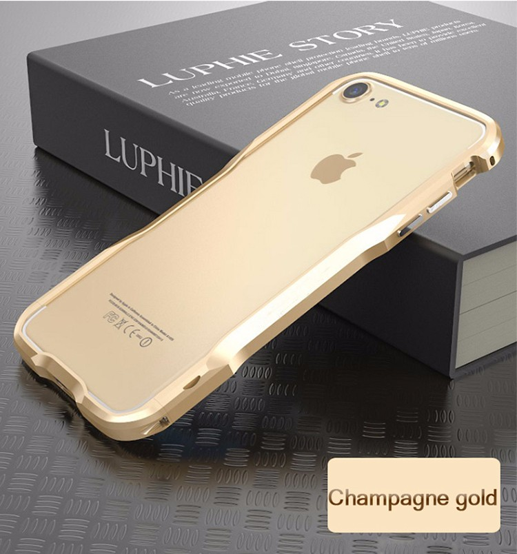 2017 wholesale Aluminium phone accessories mobile phone cover for iphone 7 plus case