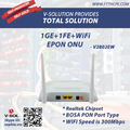 1GE+1FE+WIFI EPON ONU with Realtek Chipset Compatible with GCOM OLT