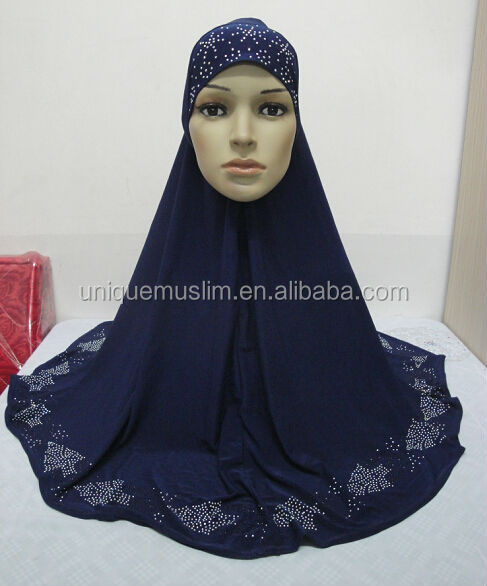 H235 latest big size muslim hijab,islamic scarf