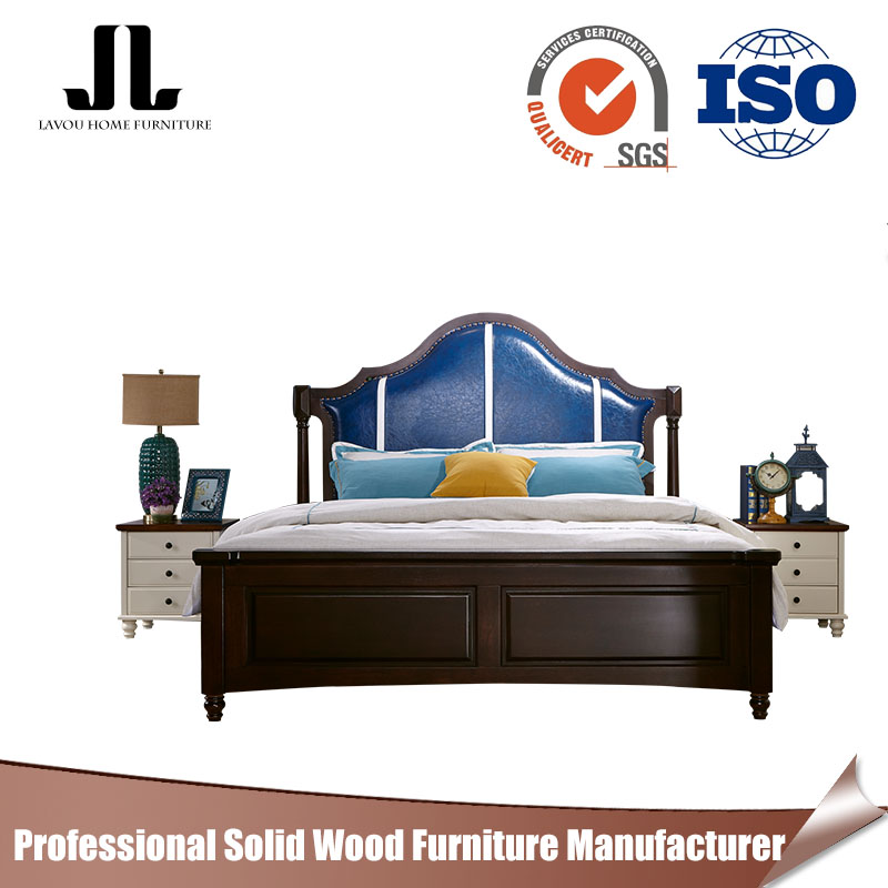 China manufacturer queen size bed frame wooden bed picture of wood double modern beds