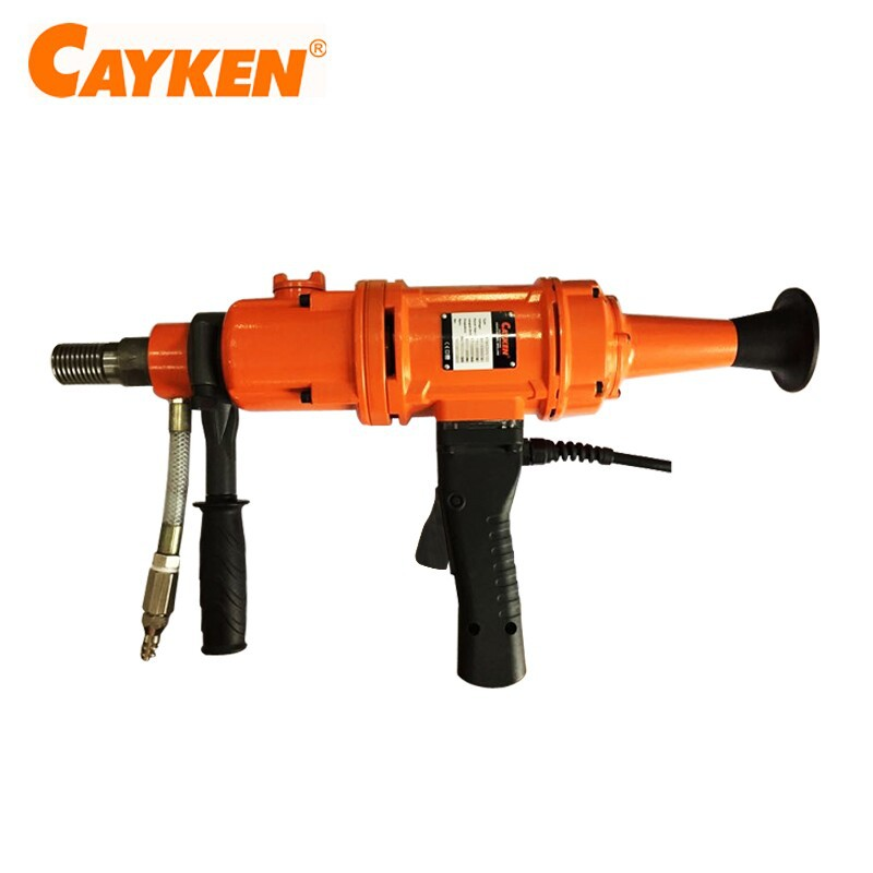 CAYKEN liquid oil gear box Hand Held Diamond WET Core Drill Machine SCY-2020/3BS