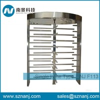 Access rotating turnstile gate Manual operation full height turnstile