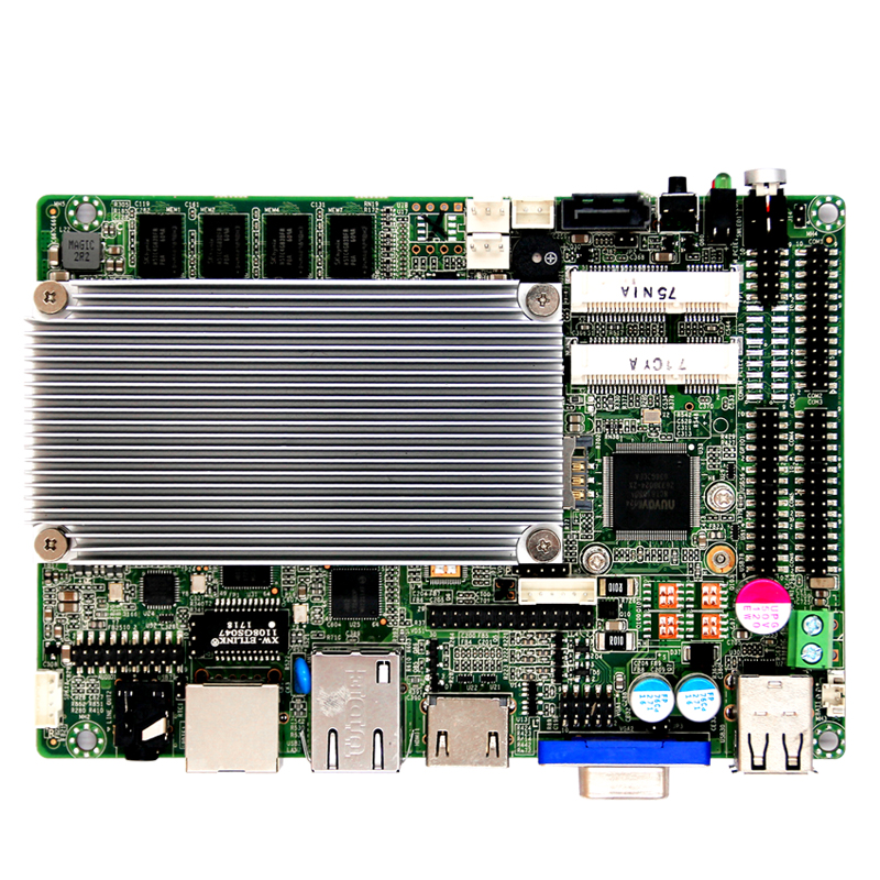 china cheap 8-36V fanless industrial mini firewall pfsense J1900 motherboard support mini pc 4 lan 4 ethernet port motherboard