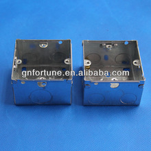 Dubai Hotsale Metal Electrical Modular Switch Box