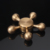 New Items Rudder Shape Brass Fidget Spinner for Stress Relief