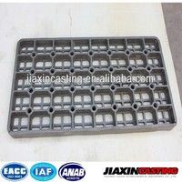 Stainless steel heat treatment base trays
