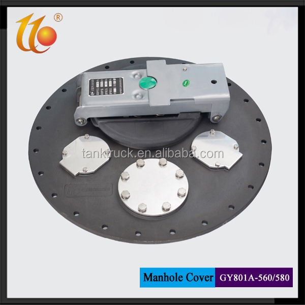 Aluminum Fuel Tank Top Loading Manhole Cover