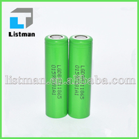 New arrival LG MJ1 18650 3500mAh battery cell High Capacity li-ion battery for Strong vaping, Ecig mod box 18650 lg INR18650MJ1