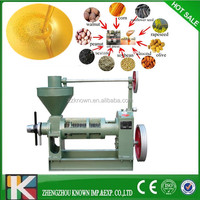 cold pressed mini spiral automatic small coconut oil mill extract machinery