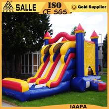 direct manufacturer most popular high profit inflatable bouncy castle with water slide