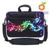 High quality waterproof with handles beautiful print neoprene laptop bags
