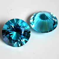 aquamarine color diamond brilliant glass diamond wholesale crystal diamond with nice gift box