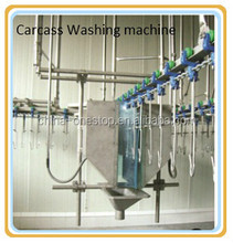 Poultry Chicken Slaughter Machine: Automatic Poultry Chicken Carcass Cleaning Machine, Washing machine, Carcass Washer