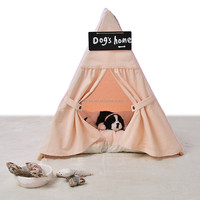 Wooden soft toy dog house Cat Tree House outdoor house for cats